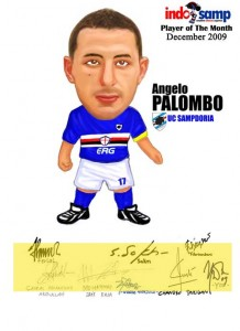 Palombo player of the month Indosamp